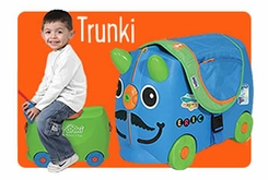 Trunki Ride-On Luggage - click to enlarge