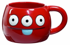 Uglydoll Ceramic Cup Peaco Red - click to enlarge