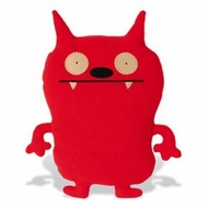 UglyDoll Classic Dave Darinko : Red - click to enlarge
