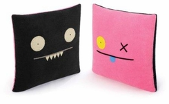 Uglydoll Double-Sided Uglypillow : Ox and Ice-Bat - click to enlarge