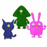 UglyDoll Little Ugly Flatter - click to enlarge