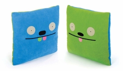 Uglydoll Uglypillow Tutulu and Groody Double Faced Pillow - click to enlarge