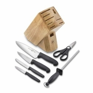 Victorinox 48900 Knife Set 7 Piece with Block - click to enlarge
