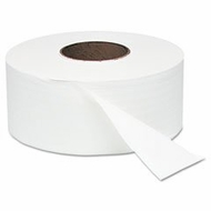 Windsoft - White Jumbo Roll Bath Tissue, 9 inch dia, 1000 ft- 12 rolls - click to enlarge