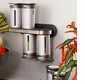 Zevro MRS800 Zero Gravity 8-Piece Magnetic Spice Rack with 6 Spice Canisters
