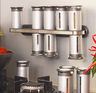 Zevro MSR1400 Zero Gravity Magnetic Spice Rack - click to enlarge