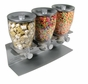 Zevro PROZ300 Commerical Plus Edition Triple Canister Dispenser, Black