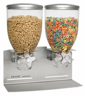 Zevro SLS200 Stainless Steel Designer Edition 17.5oz Countertop or Wall Mount Double Dispenser - click to enlarge