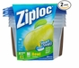 Ziploc Container, Medium Bowl, 4-Count- 2pack