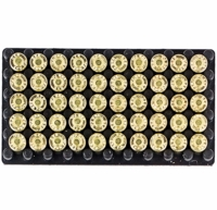 9mm Half Load Blanks, 50 Pack