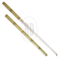 Bamboo Stick Shirasaya Sword