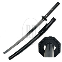 Black Warrior Full Tang Samurai Sword