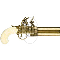 Colonial Double Barrel Flintlock