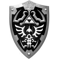Dark Link's Hyrule Crest Shield
