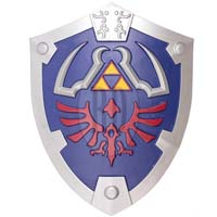 Deluxe LARP Zelda Hyrule Foam Resin Shield