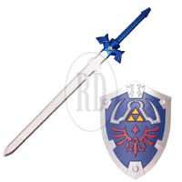 Deluxe LARP Foam Zelda Sword and Shield