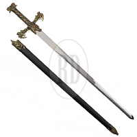 Dragon King Barbarian Fantasy Sword