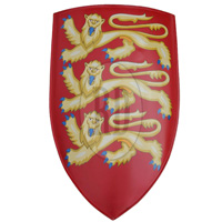 Edward I of England Medieval Heater Shield
