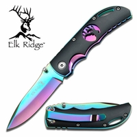 Elk Ridge Rainbow Folding Pocket Knife