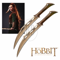 Hobbit Fighting Knives of Tauriel