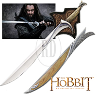 Hobbit Orcrist Sword and Scabbard Combo
