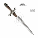 Kit Rae Deaths Head Fantasy Dagger & Wall Plaque
