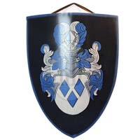 Knight Coat  of Arms Shield
