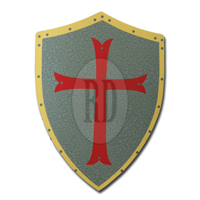 LARP Crusader Medieval Shield