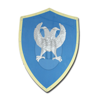LARP Double Headed Eagle Shield