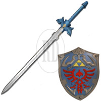 LARP Link's Sword and Shield Combo