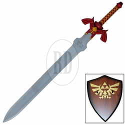Link's Red Magical Master Sword with Plaque
