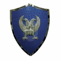 Medieval Two Headed Eagle Shield