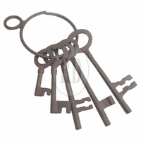 Old West Jailer's Keys