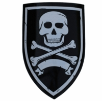 Pirate Skull Shield