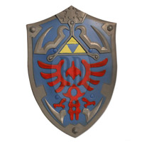 LARP Link's Hyrule Foam Shield
