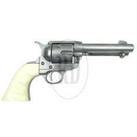 Quick Draw Revolver with Ivory Grips