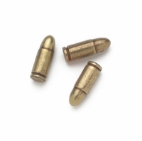 Replica 9mm Bullets - Set of 6
