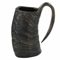 Water Buffalo Horn Drinking Mug