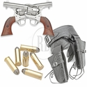 Western Revolvers & Double Holster