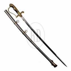 WWII German Officer Sword w/ Scabbard