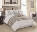 10 Piece King Cape Cod Comforter Set