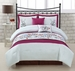 10 Piece Queen Giselle Bed in a Bag w/600TC Sheet Set