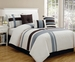 11 Piece Cal King Greenwich Bed in a Bag w/600TC Sheet Set