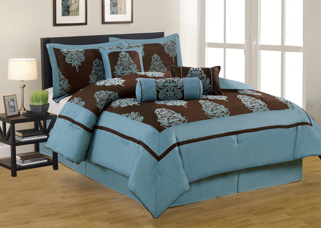 104x92 In Inch Set Bed In A Bag California Cal King Size