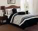 11 Piece Cal King Trabuco Embroidered Bed in a Bag Set