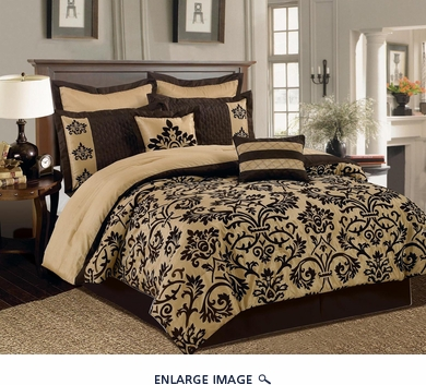 12 Piece King San Marco Bed in a Bag Set