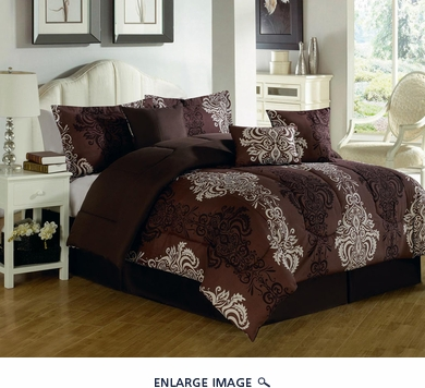 11 Piece Queen Macauthur Bed in a Bag Set