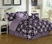 11 Piece Queen Quarten Bed in a Bag Set