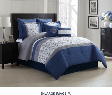 12 Piece Queen Merrill Bed in a Bag Set
