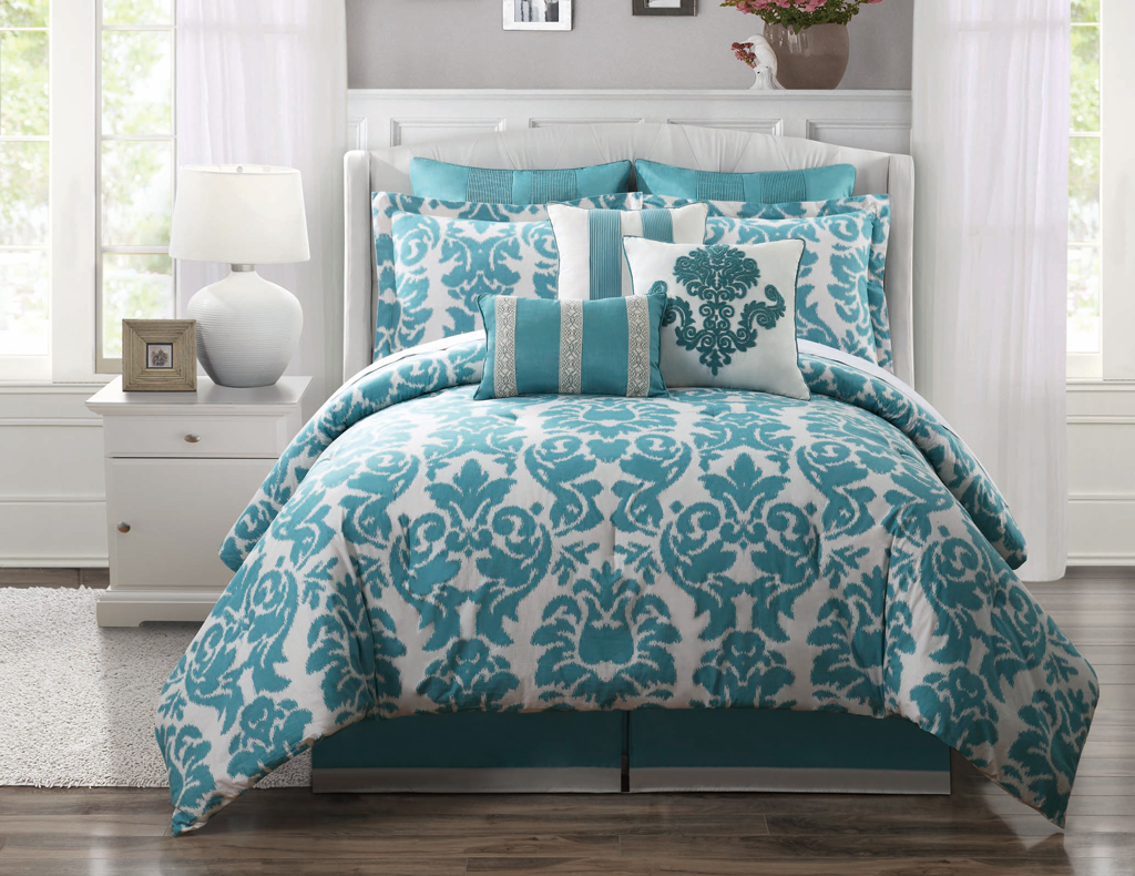 13 Piece Chateau 100 Cotton Bed In A Bag Set